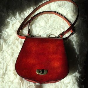 Handbags - Small, red leather purse